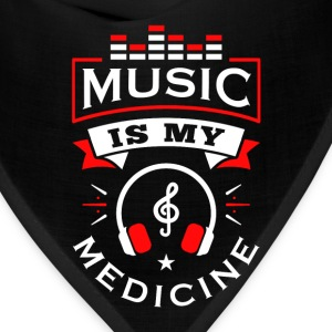 Music Is My Medicine - Bandana