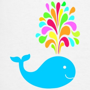 Funny colorful whale Other - Men's T-Shirt