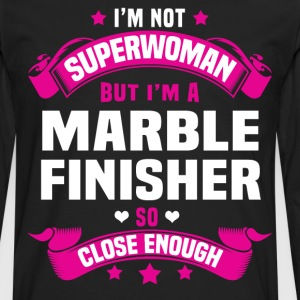 Marble Finisher T-Shirts - Men's Premium Long Sleeve T-Shirt