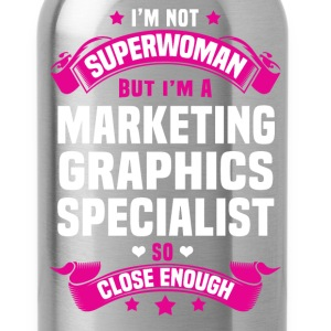Marketing Graphics Specialist T-Shirts - Water Bottle