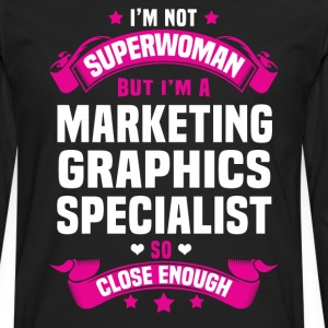 Marketing Graphics Specialist T-Shirts - Men's Premium Long Sleeve T-Shirt