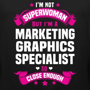Marketing Graphics Specialist T-Shirts - Men's Premium Tank