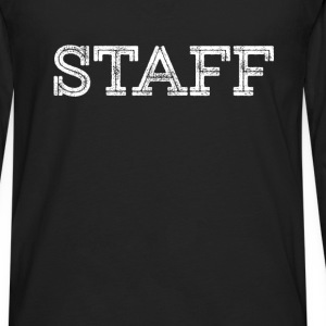 Staff - Staff - Men's Premium Long Sleeve T-Shirt