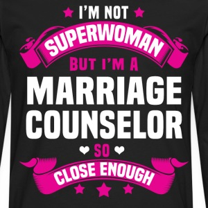 Marriage Counselor T-Shirts - Men's Premium Long Sleeve T-Shirt