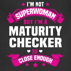 Maturity Checker T-Shirts - Adjustable Apron
