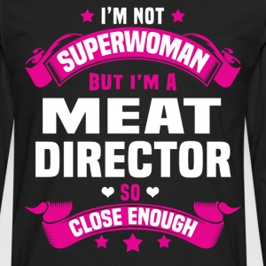 Meat Director T-Shirts - Men's Premium Long Sleeve T-Shirt