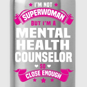 Mental Health Counselor T-Shirts - Water Bottle