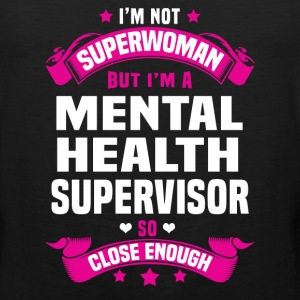 Mental Health Supervisor T-Shirts - Men's Premium Tank