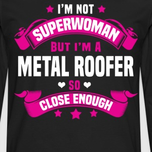 Metal Roofer T-Shirts - Men's Premium Long Sleeve T-Shirt