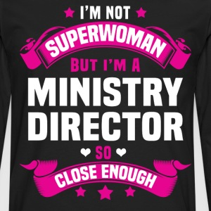 Ministry Director T-Shirts - Men's Premium Long Sleeve T-Shirt