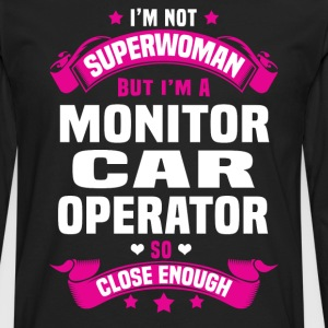 Monitor Car Operator T-Shirts - Men's Premium Long Sleeve T-Shirt