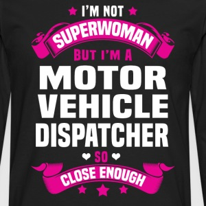 Motor Vehicle Dispatcher T-Shirts - Men's Premium Long Sleeve T-Shirt