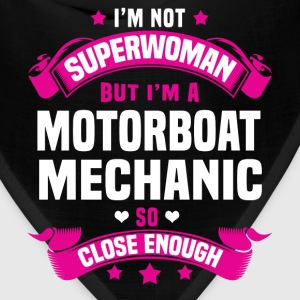 Motorboat Mechanic T-Shirts - Bandana