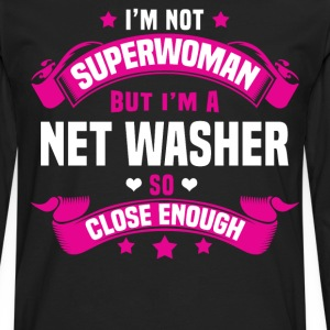 Net Washer T-Shirts - Men's Premium Long Sleeve T-Shirt