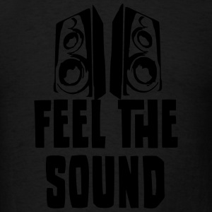 Feel the Sound, Hoodie, Men - Men's T-Shirt