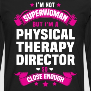 Physical Therapy Manager Tshirt - Men's Premium Long Sleeve T-Shirt