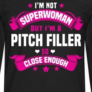 Pitch Worker Tshirt - Men's Premium Long Sleeve T-Shirt