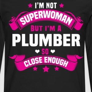 Plumber Tshirt - Men's Premium Long Sleeve T-Shirt