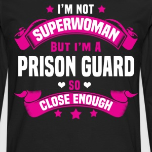 Prison Guard Tshirt - Men's Premium Long Sleeve T-Shirt