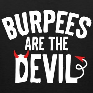 Burpees Are The Devil - Men's Premium Tank