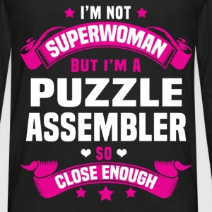 Puzzle Assembler Tshirt - Men's Premium Long Sleeve T-Shirt