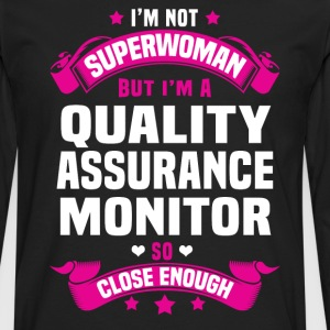 Quality Assurance Monitor Tshirt - Men's Premium Long Sleeve T-Shirt
