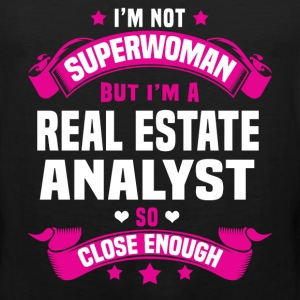 Real Estate Analyst Tshirt - Men's Premium Tank