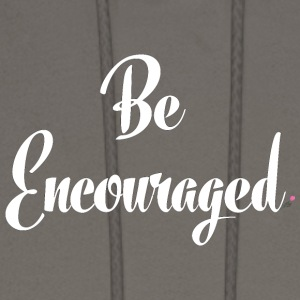 Be Encouraged - White - Men's Hoodie
