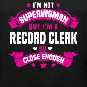 Record Clerk Tshirt - Men's Premium Tank