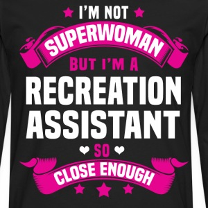 Recreation Assistant Tshirt - Men's Premium Long Sleeve T-Shirt