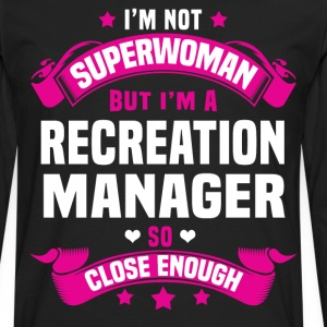 Recreation Manager Tshirt - Men's Premium Long Sleeve T-Shirt