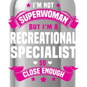 Recreational Specialist Tshirt - Water Bottle