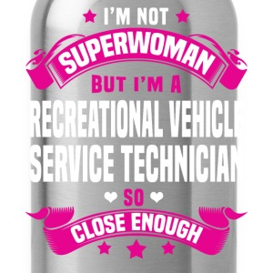 Recreational Vehicle Service Technician Tshirt - Water Bottle