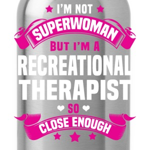 Recreational Therapist Tshirt - Water Bottle