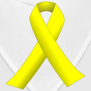 Yellow ribbon - Bandana