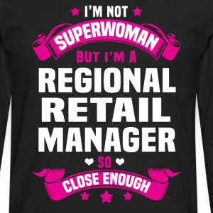 Regional Retail Manager Tshirt - Men's Premium Long Sleeve T-Shirt