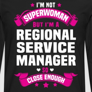 Regional Service Manager Tshirt - Men's Premium Long Sleeve T-Shirt