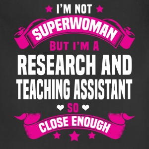 Research and Teaching Assistant Tshirt - Adjustable Apron