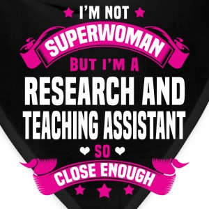 Research and Teaching Assistant Tshirt - Bandana