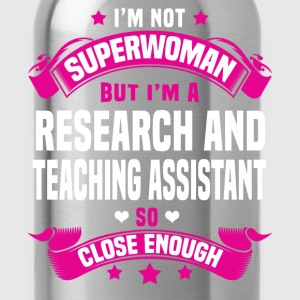 Research and Teaching Assistant Tshirt - Water Bottle