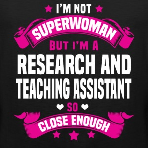 Research and Teaching Assistant Tshirt - Men's Premium Tank