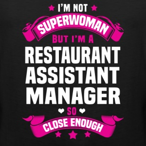 Restaurant Assistant Manager Tshirt - Men's Premium Tank