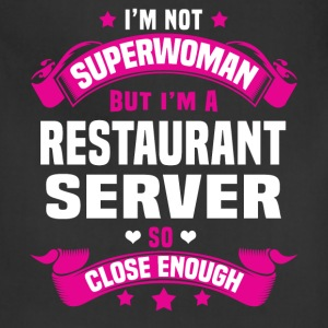Restaurant Server Tshirt - Adjustable Apron