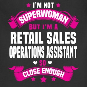 Retail Sales Operations Assistant Tshirt - Adjustable Apron
