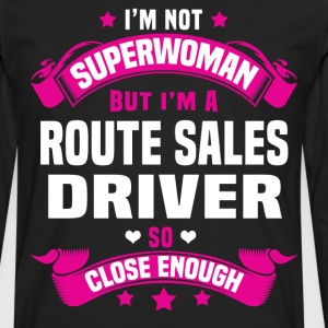 Route Sales Driver Tshirt - Men's Premium Long Sleeve T-Shirt