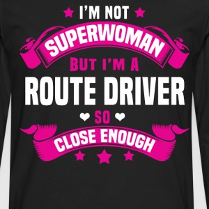 Route Driver Tshirt - Men's Premium Long Sleeve T-Shirt