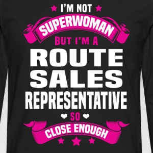 Route Sales Representative Tshirt - Men's Premium Long Sleeve T-Shirt