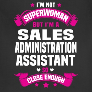 Sales Administration Assistant Tshirt - Adjustable Apron