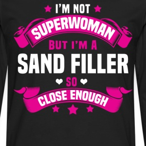 Sand Filler Tshirt - Men's Premium Long Sleeve T-Shirt