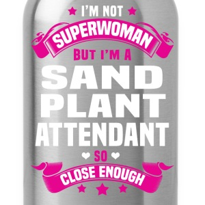 Sand Plant Attendant Tshirt - Water Bottle